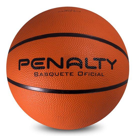 2b7fa2241 Bola Basquete Penalty Nylon Oficial Playof - Preto+Vermelho