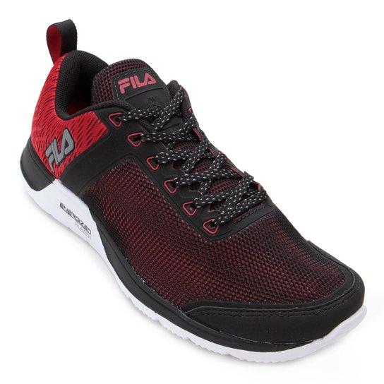 77e8d8403a2 Tênis Fila FXT Cross 53 Masculino - Preto e Vermelho - Compre Agora ...