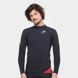 Camisa Surf Mormaii Neoprene Snap 1.0 mm Masculina