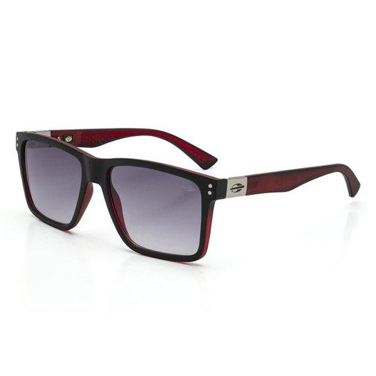 0277df8f7358b Óculos De Sol Mormaii Cairo - Preto e Vermelho - Compre Agora
