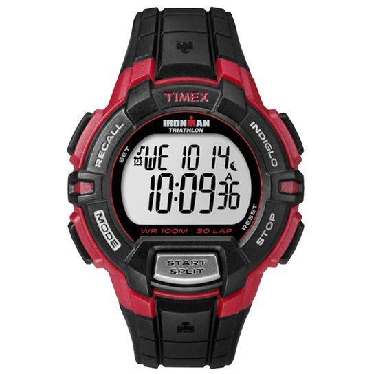 d13b0b1e614 Relógio Timex Ironman T5K790WKLTN - Preto+Vermelho