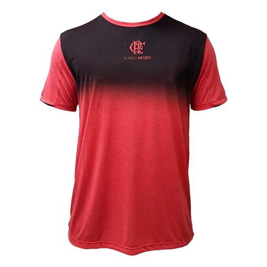 98f1b0c788e6d Camiseta Flamengo Rain Braziline - Preto+Vermelho