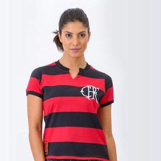 Camisa Flamengo Retrô Baby Look Tri-Carioca 1979 Feminina 0a397629232e9