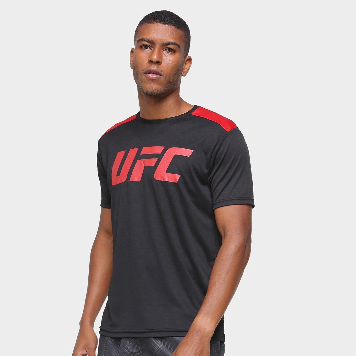 Camiseta UFC Recortes Masculina