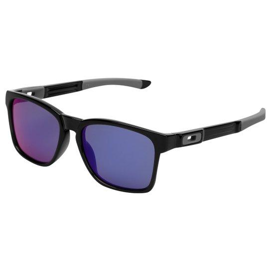 d04e27528fd40 Óculos Oakley Catalyst-Iridium - Preto e Roxo - Compre Agora   Netshoes