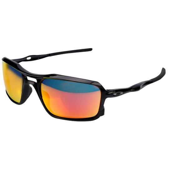 6f83140c06e29 Óculos Oakley Triggerman-Iridium - Preto+Vermelho