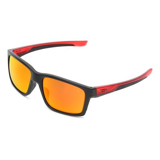 1572165d2f1e4 Óculos de Sol Oakley Mainlink Masculino - Preto e Vermelho - Compre ...