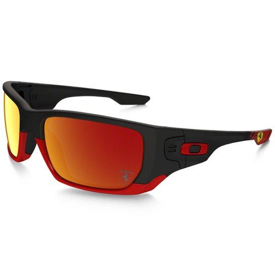 a79f60275f264 Óculos Oakley Style Switch - Preto+Vermelho