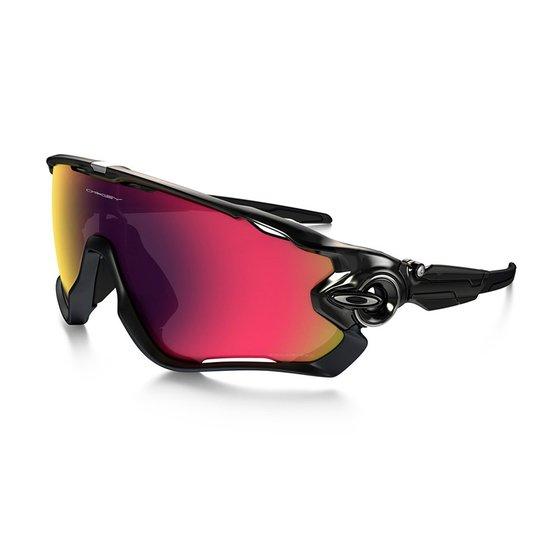 3d990b2191 Óculos De Sol Ciclismo Oakley Jawbreaker - Preto+Vermelho