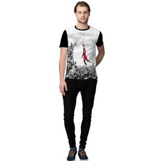 64e6f078739e0 Camiseta Stompy Baskett Masculino