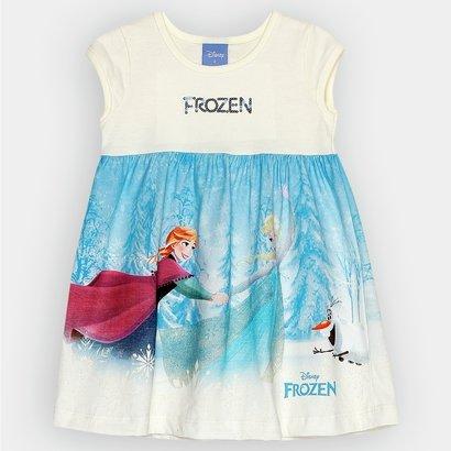 Vestido Brandili Frozen Infantil