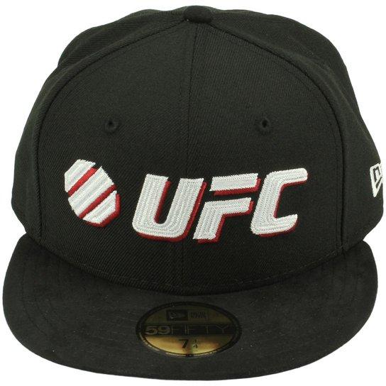 88a2709ea433e Boné New Era UFC Command - Preto+Vermelho