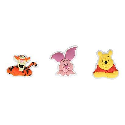 Broche Infantil Crocs Winnie the Pooh 3 Peças