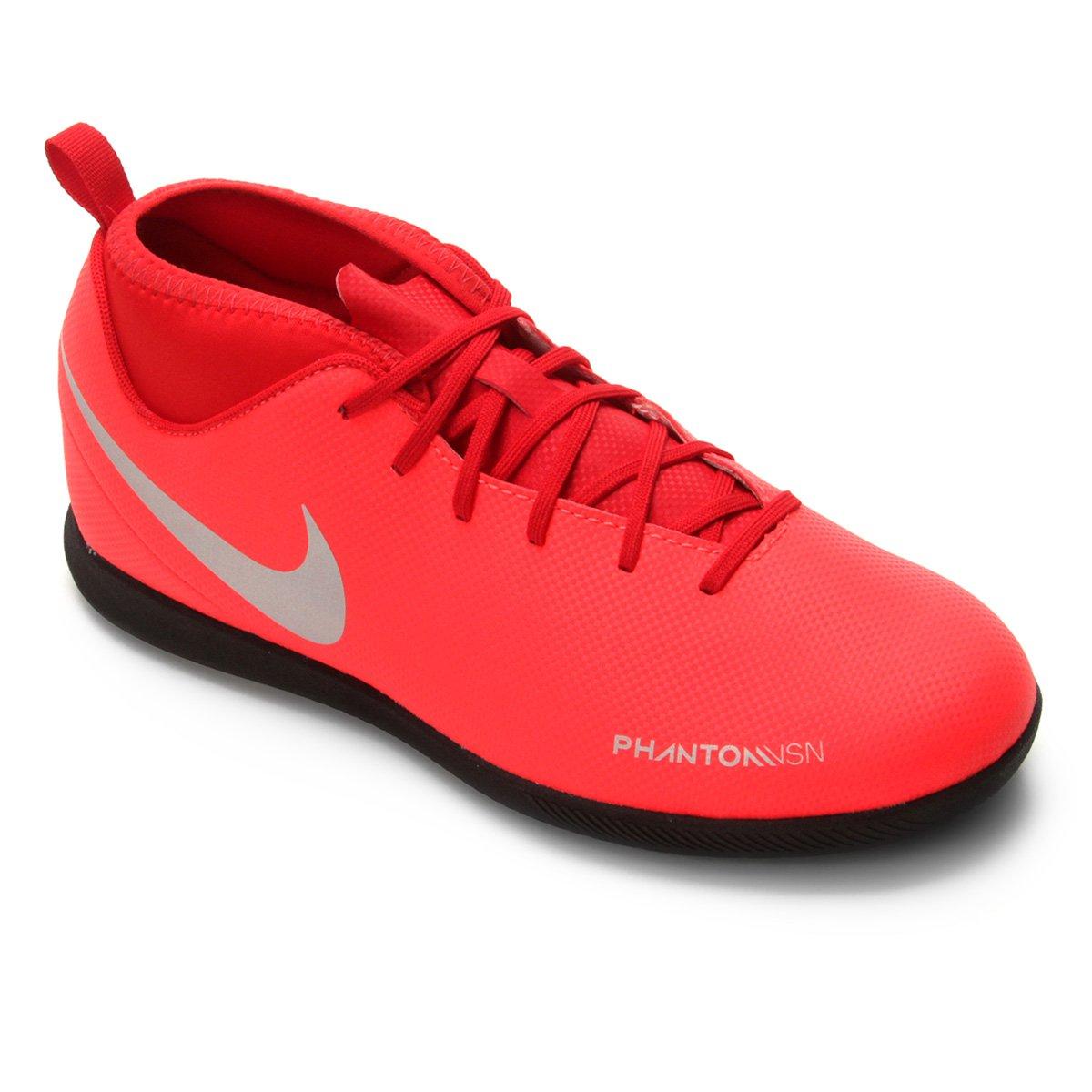 bc7ba46384ce4 Chuteira Futsal Infantil Nike Phantom Vision Club DF IC - Tam: 36 ...