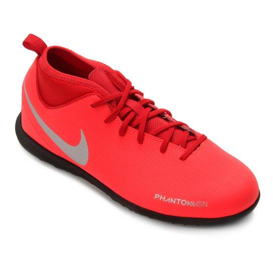 061c17c42e Chuteira Society Infantil Nike Phantom Vision Club TF - Vermelho e ...