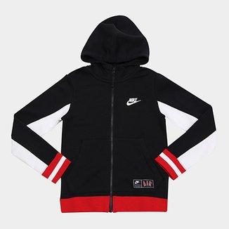 1caba87b412 Jaqueta Infantil Nike B Air Hoodie Masculina