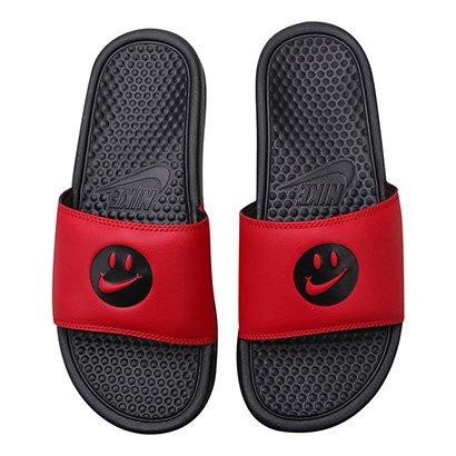 Chinelo Slide Nike Benassi Jdi Print Carinha Masculino