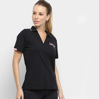 Camisa Polo Toyota Gazoo Racing Lifestyle Feminina