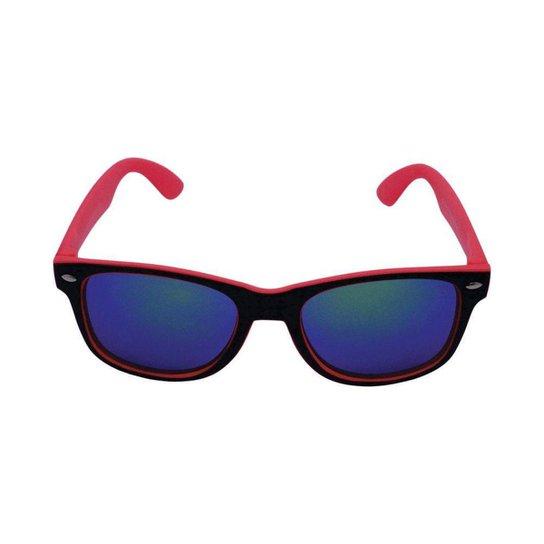 2a5e85720 Óculos de Sol Khatto Infantil Bad Boy - Preto+Vermelho