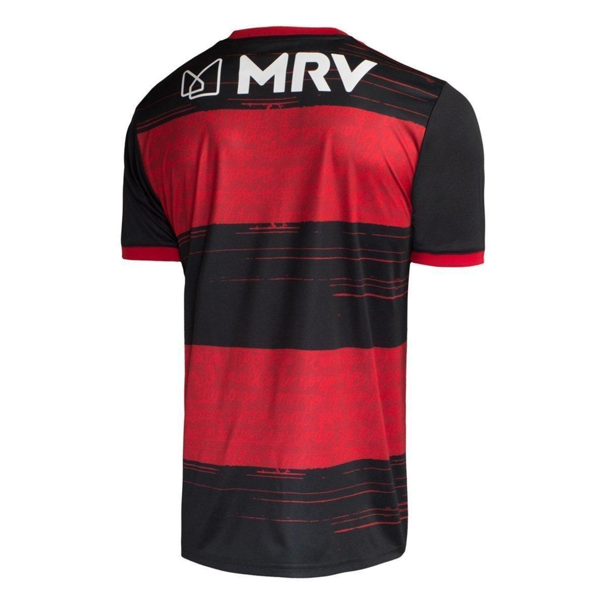 Camisa Flamengo I 20/21 s/n° Torcedor Adidas Masculina - Tam: G - 1