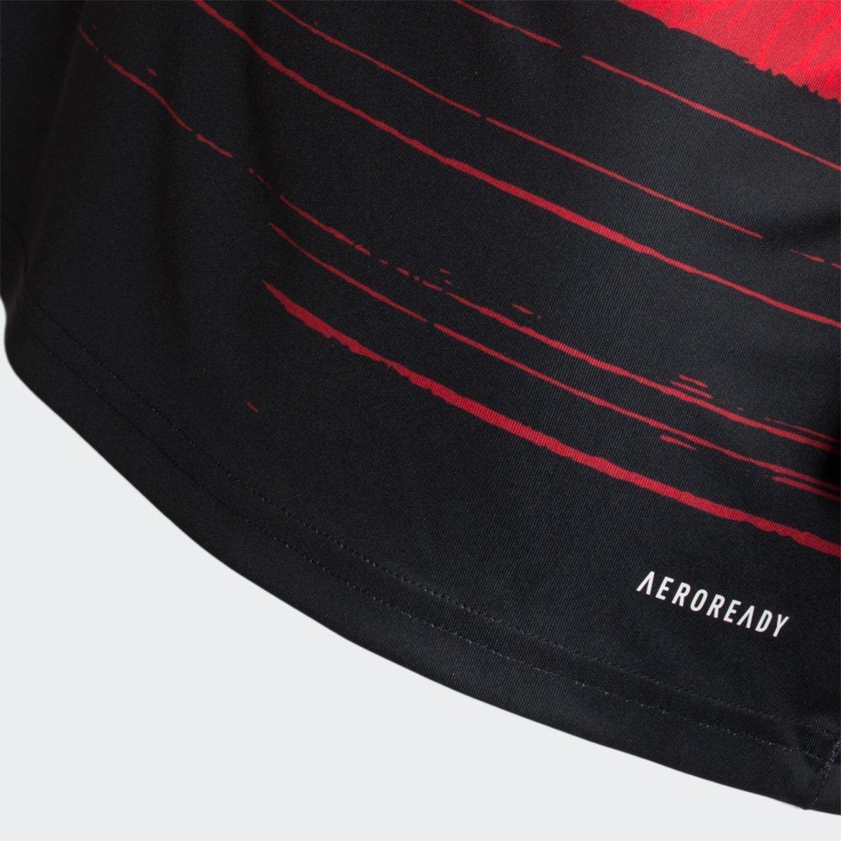 Camisa Flamengo I 20/21 s/n° Torcedor Adidas Masculina - Tam: G - 4