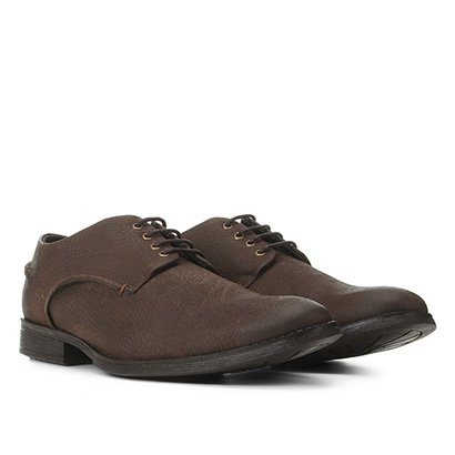 Sapato Casual Couro Reserva Básico Kadu Masculino