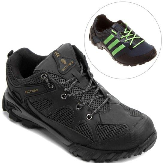 94944b3a11d Kit Tênis GONEW Baltoro + Tênis Adidas Anura - Compre Agora