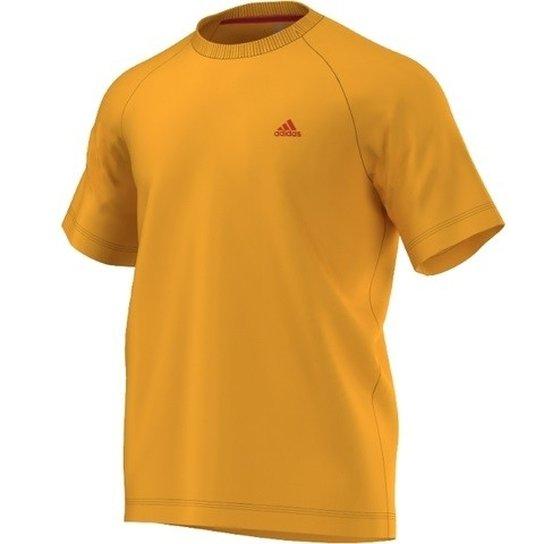 df6d1dbd2 Camiseta Adidas Crew Ess - Laranja+Vermelho