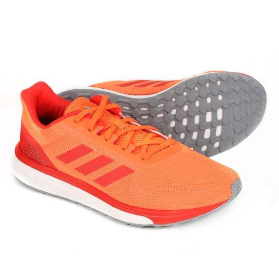2c9c9b0f761 Tênis Adidas Response Masculino - Laranja e Vermelho - Compre Agora ...