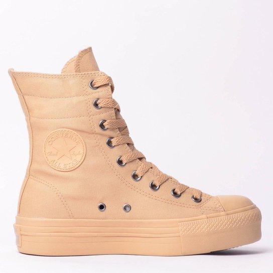 0c1f4df994b Tênis Converse Chuck Taylor All Star Hi-Rise Plat - Compre Agora ...