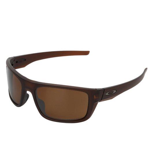 e9d91fb227018 Óculos de Sol Oakley Polarizado Drop Point Polarized Masculino - Café