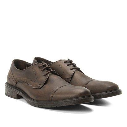 Sapato Casual Couro Democrata Garage Masculino