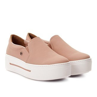 3e0cd2a811 Slip On Via Marte Caixa Alta Feminino