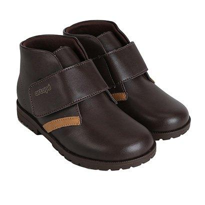 Bota Infantil Coturno  Ortopé Baby Boot Masculina