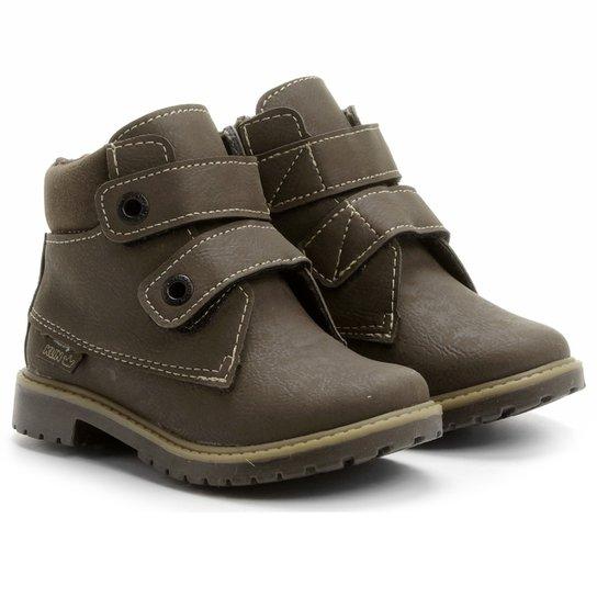 674eebbcd8c Bota Klin Coturno Baby Rock Velcro - Compre Agora