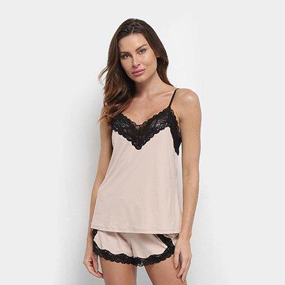 Pijama Hope Short Doll Feminino