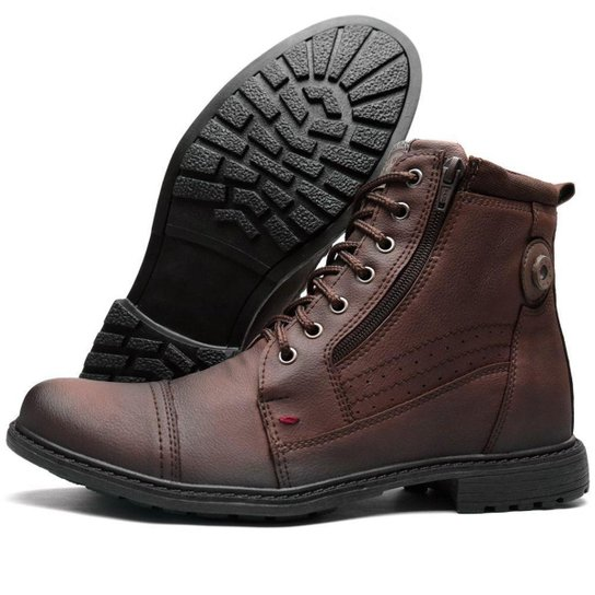 72c074088 Bota Coturno Mascolino Fort Way - Café | Netshoes