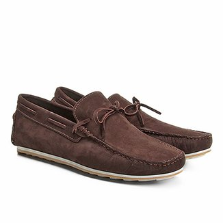 74ab61f9fd Mocassim Couro Walkabout Nobuck Masculino