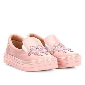 4fa5a0593 Tênis Infantil Menina Fashion Flamingo Feminino