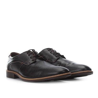 Sapato Casual Couro Fly Walk Masculino