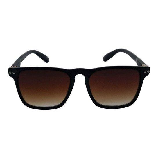 9b42e9c4f9ab7 Óculos de Sol Khatto 37 Masculino - Café - Compre Agora   Netshoes