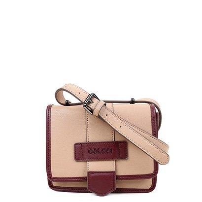 Bolsa Colcci Mini Bag Quadrada Bicolor Feminina