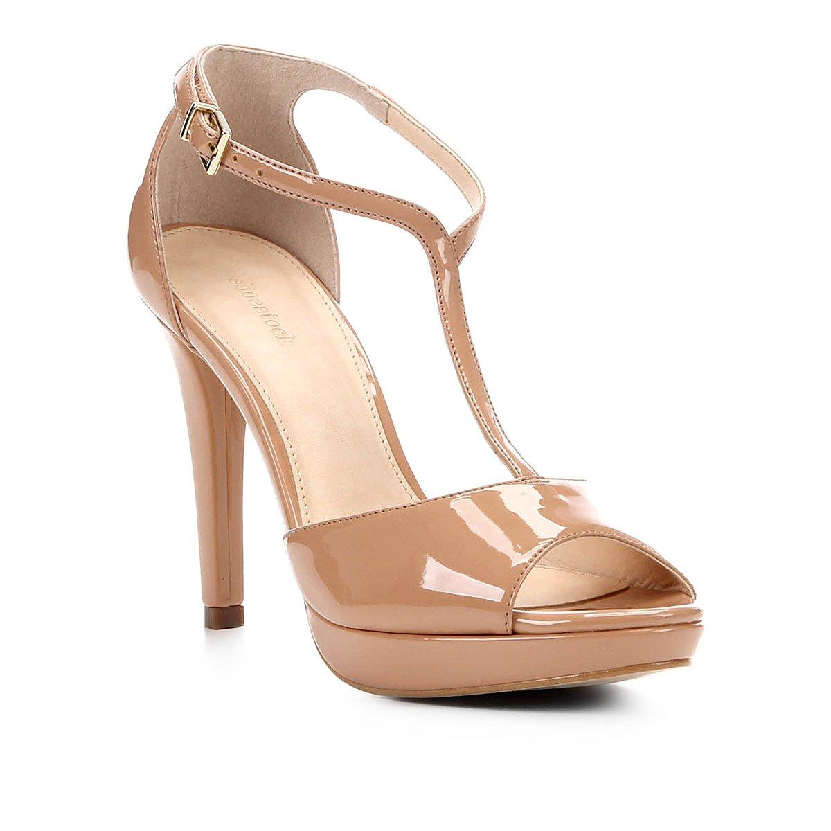 Sandália Shoestock Meia Pata Salomé Feminina