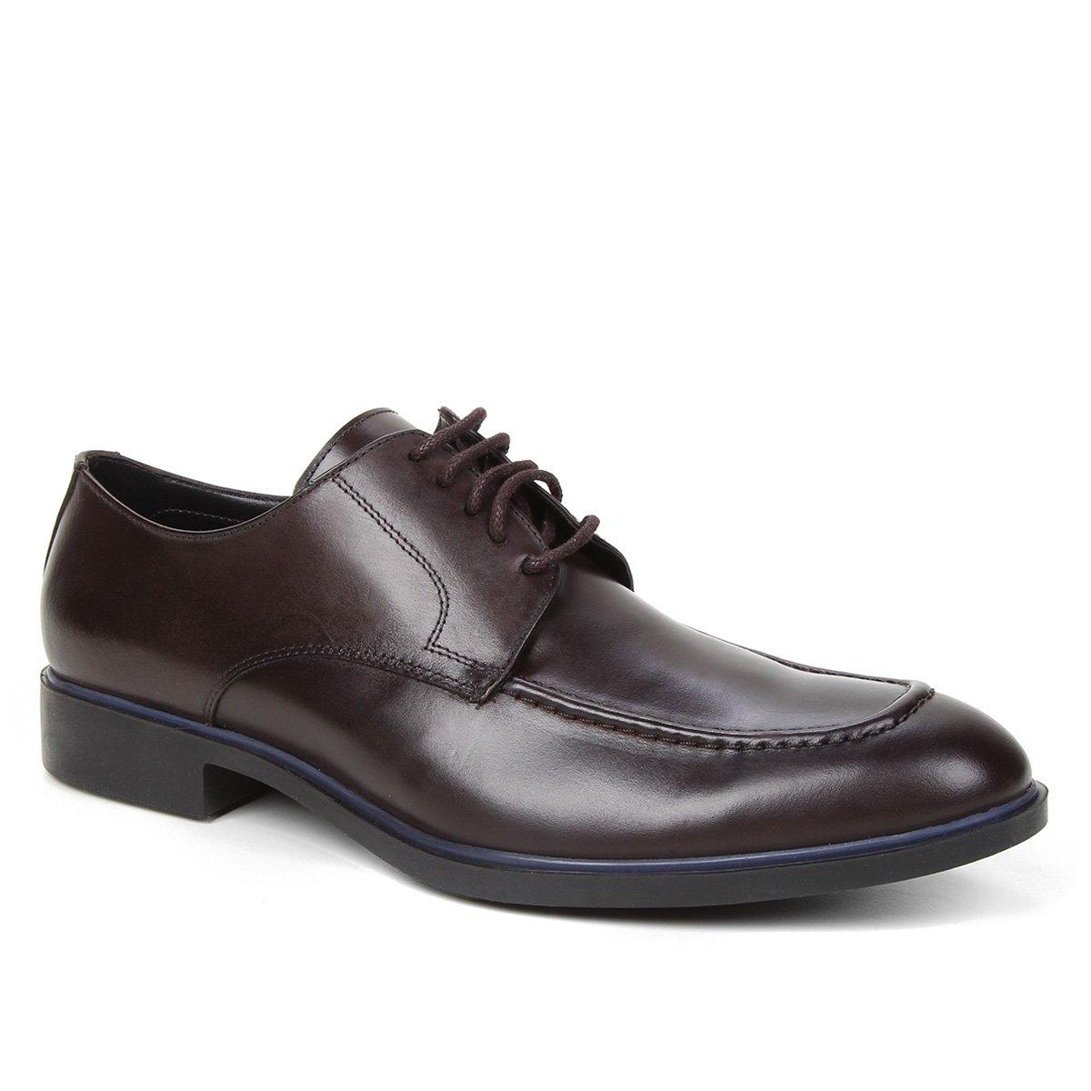 Sapato Social Couro Shoestock Clássico Cadarço Masculino