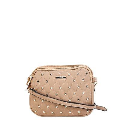 7a2d2f9c7 Bolsa Gash Mini Bag Aplique Tachas Alça Transversal Feminina