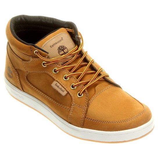 Bota Timberland EK Packer Leather Chukka - Bege - Compre Agora ... f42a939caf4
