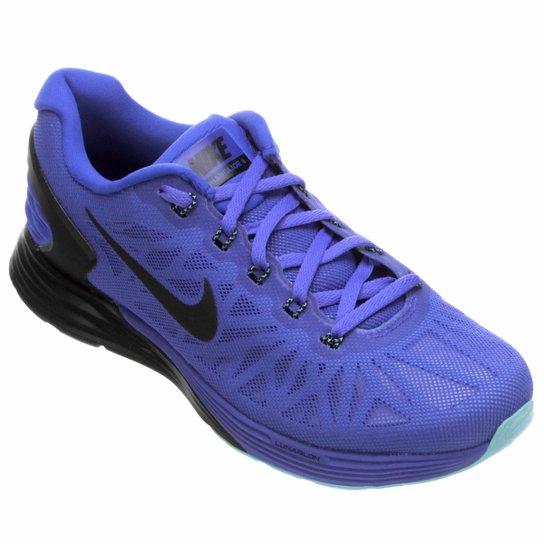 on sale 1ed2f e9c2e Tênis Nike Lunarglide 6 Feminino - Roxo