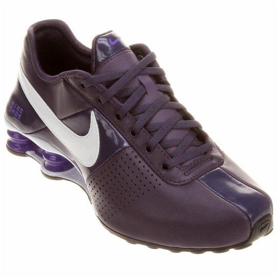 e0d7b15b773 Tênis Nike Shox Deliver - Roxo+Branco ...