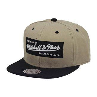 Boné Mitchell   Ness Aba Reta Snapback Brand Box L 499960e5d93