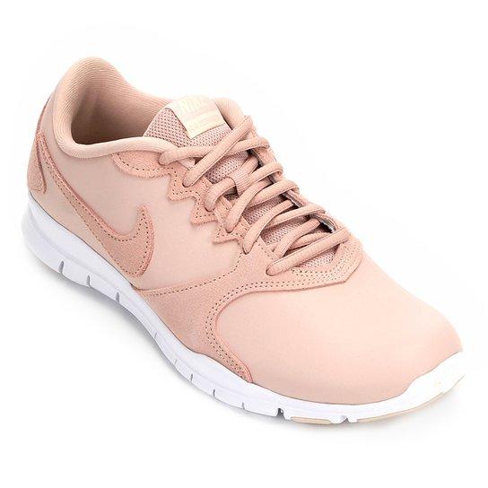 fbd60f660a6 Tênis Nike Flex Essential Tr Lt Feminino - Bege - Compre Agora ...